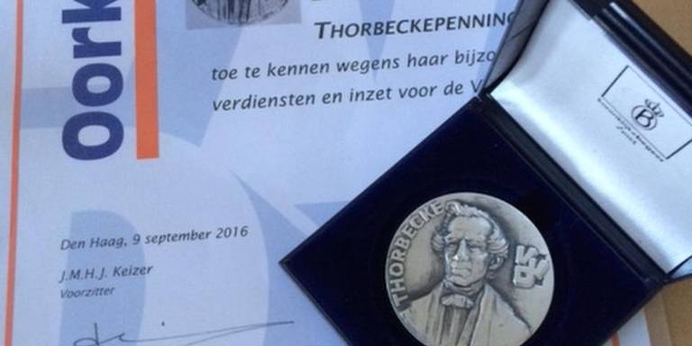 Thorbeckepenning voor Monique Boskma